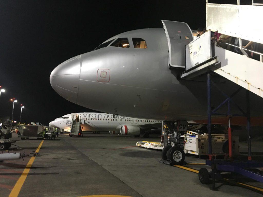 Bali Flight- Jet Airways