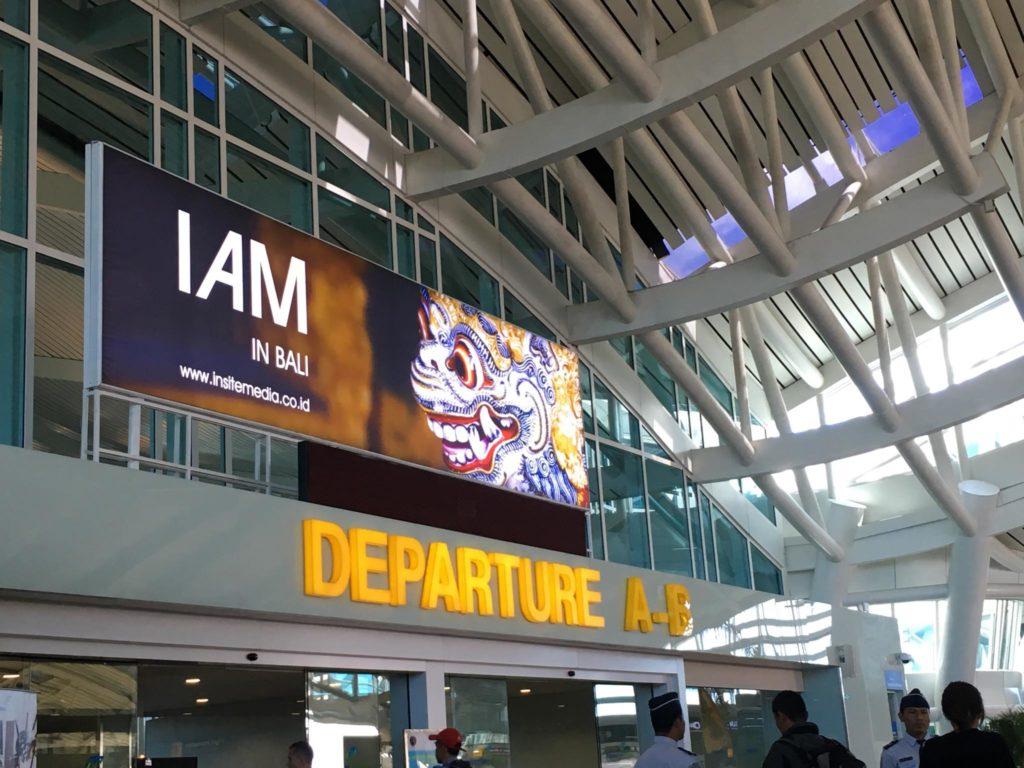 Bali Airport Depature A-B